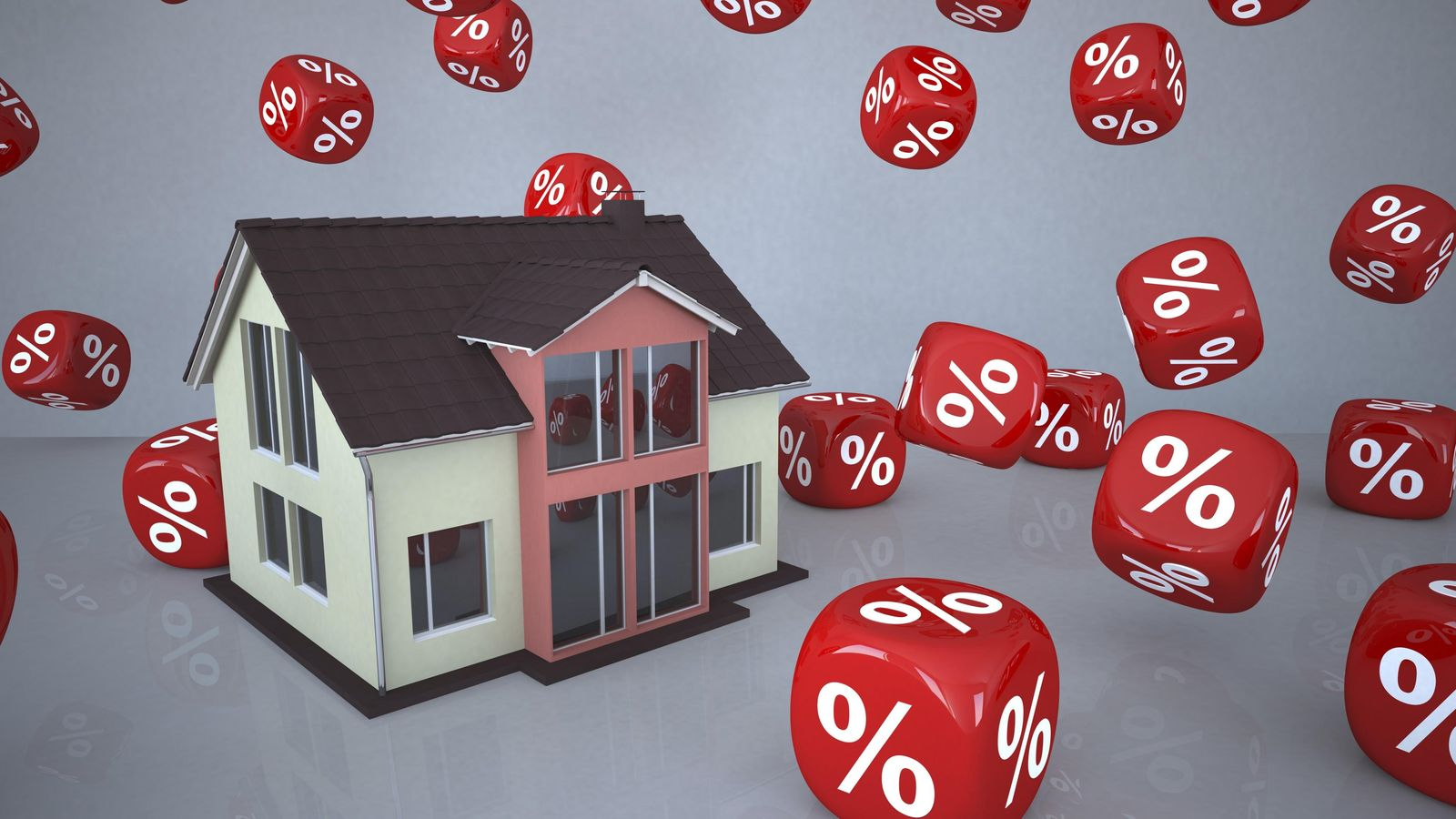 Foto: El 15% de las hipotecas supera el 80% del valor de tasación. (Corbis)