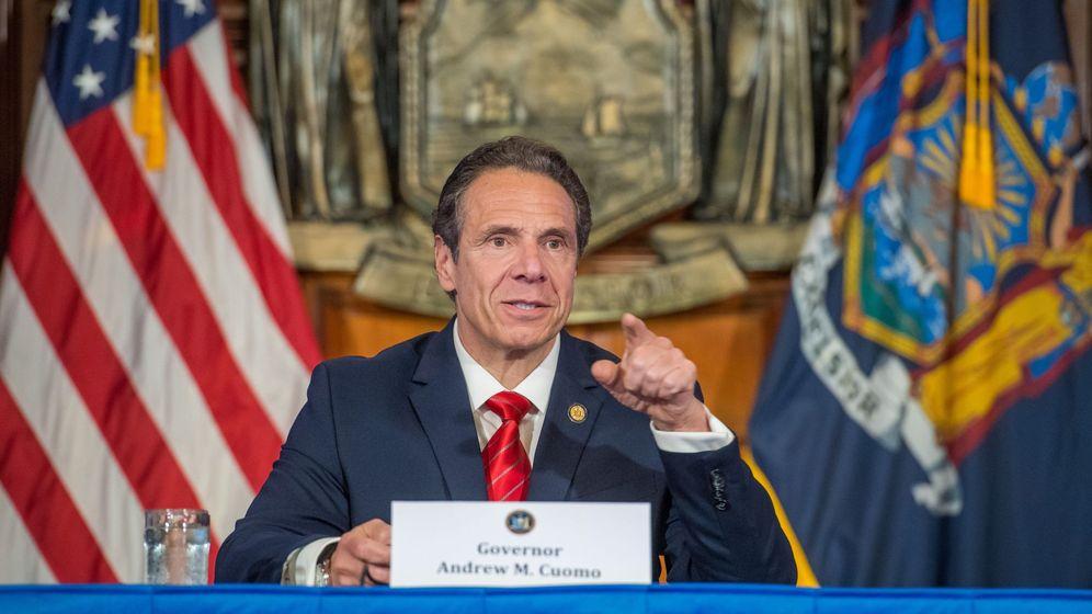 Foto: Andrew Cuomo, goboernador de Nueva York. (EFE)
