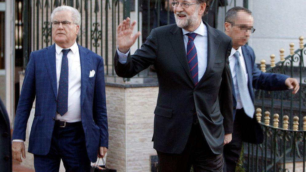 Foto: Mariano Rajoy se incorporó este lunes a una plaza de registrador de la propiedad en Madrid. (EFE)