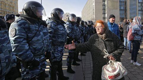 Protestas de la oposición en Moscú