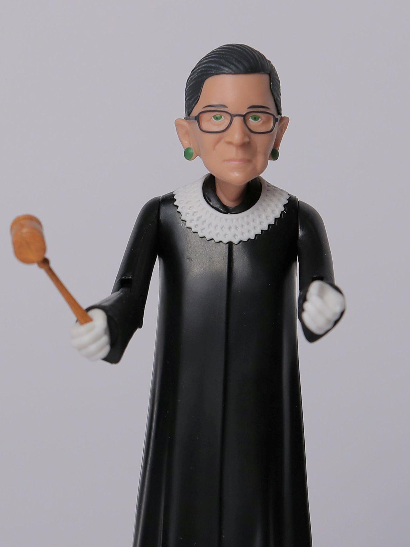 Figura de Ginsburg. (Reuters)