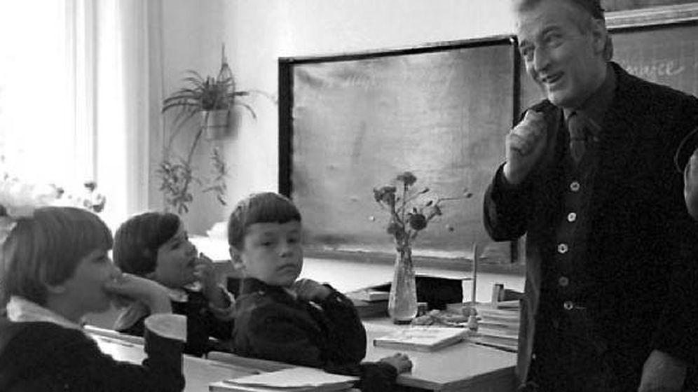 Foto: Gianni Rodari enseñó a crear historias a muchos niños en los sesenta
