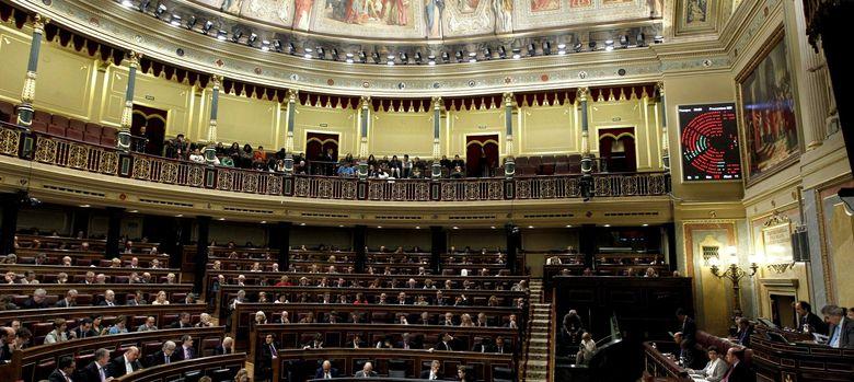 Foto: Pleno del Congreso (EFE)