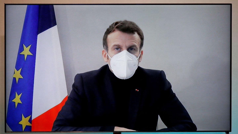 Emmanuel Macron. (Reuters)