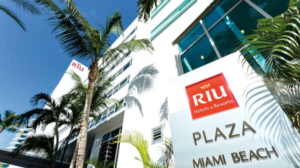 Foto: Uno de los hoteles de la cadena en Miami. (RIU)