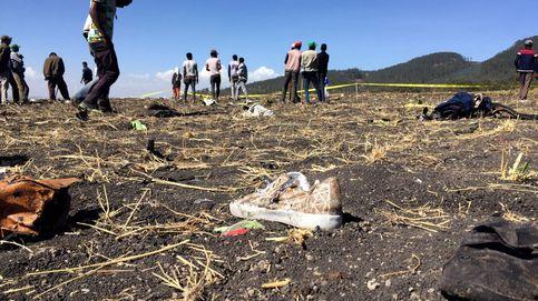 Las imágenes del avión siniestrado en Etiopía en el que han fallecido dos españoles