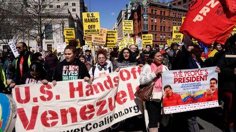 Activistas de EEUU duermen en la embajada venezolana para evitar que Guaidó la ocupe