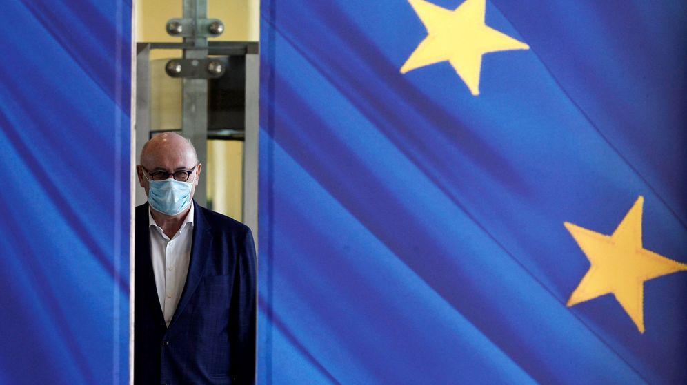 Foto: Entrada de la Comisión Europea en Bruselas. (Reuters)