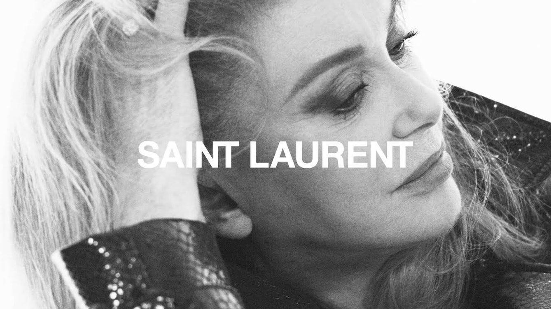 Catherine Deneuve es imagen de Saint Laurent