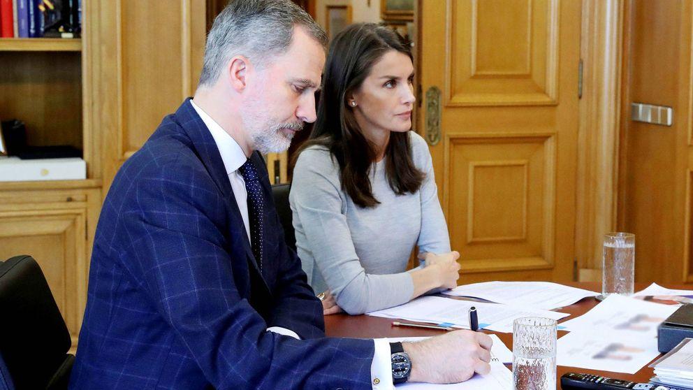 La complicada vuelta a la normalidad de la agenda de don Felipe y doña Letizia
