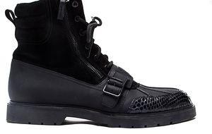 Unas botas militares con espíritu fashion