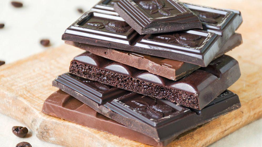 Foto: Onzas de chocolate. (iStock)
