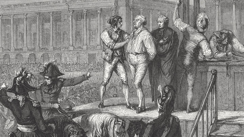 Ejecución de Luis XVI (Fuente: iStock)