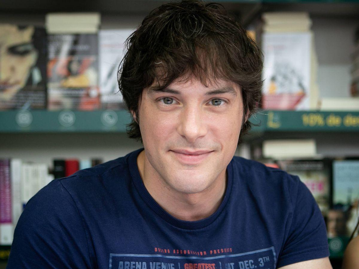Foto:  Jordi Cruz, en la pasada feria del libro. (Getty)