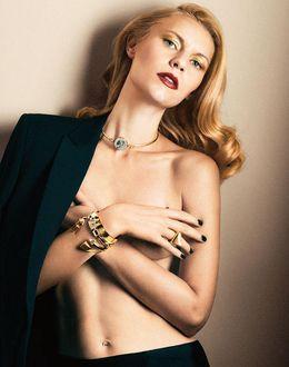 Foto: La actriz Claire Danes (Interview Magazine)