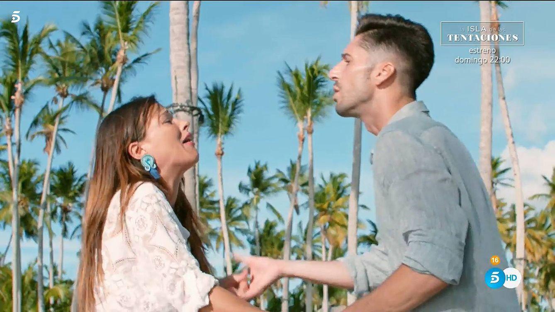 Marta estalla contra Lester en 'La isla de las tentaciones': Tú y yo ya no estamos juntos