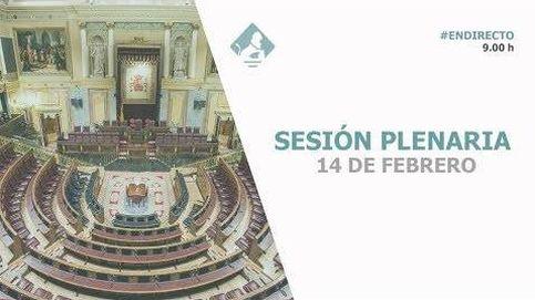 Siga la sesión de control al Gobierno en el Congreso