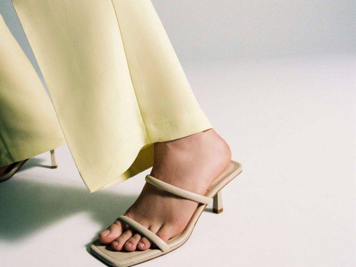 Foto: Las sandalias de Zara. (Cortesía)