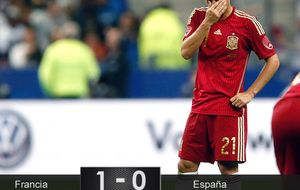 Esta selección española se ha acostumbrado a perder partidos