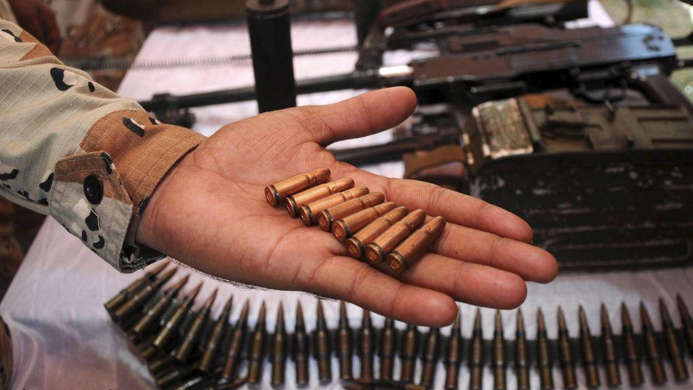 Foto: Cargamento de armas. (EFE)