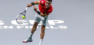 Post de Cómo arrancó Rublev a Bautista el primer punto de España en la Copa Davis