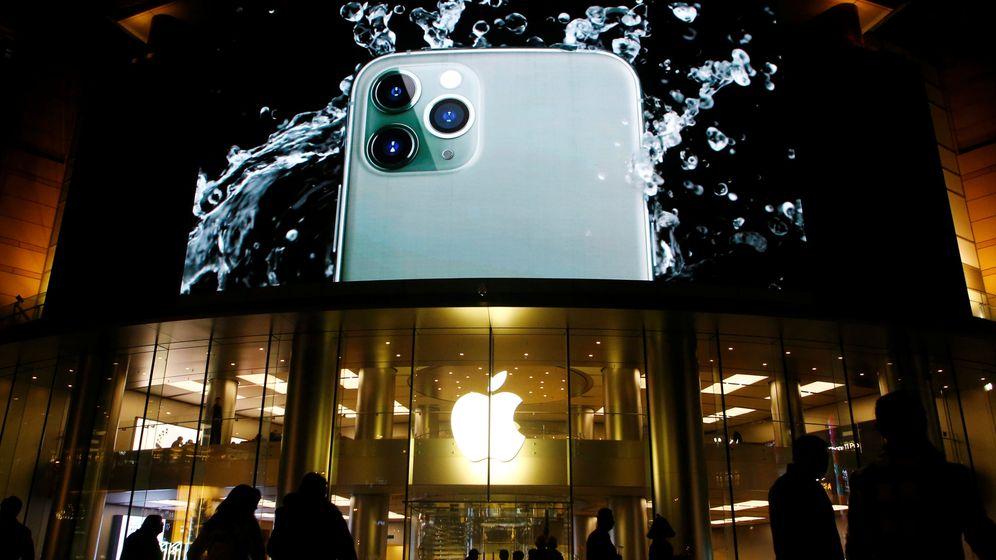 Foto: Fachada de una de las tiendas de Apple en Pekín, China. (Reuters)