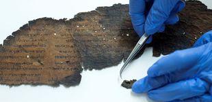 Post de Descubren textos ocultos en los Rollos del Mar Muerto que se creían en blanco