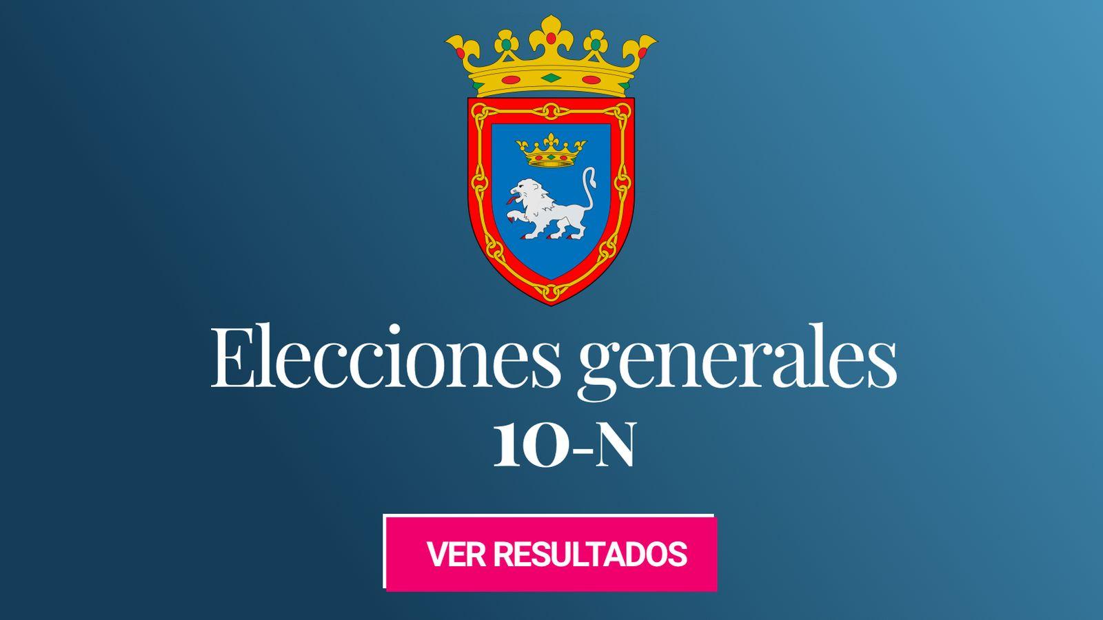 Foto: Elecciones generales 2019 en Pamplona. (C.C./EC)