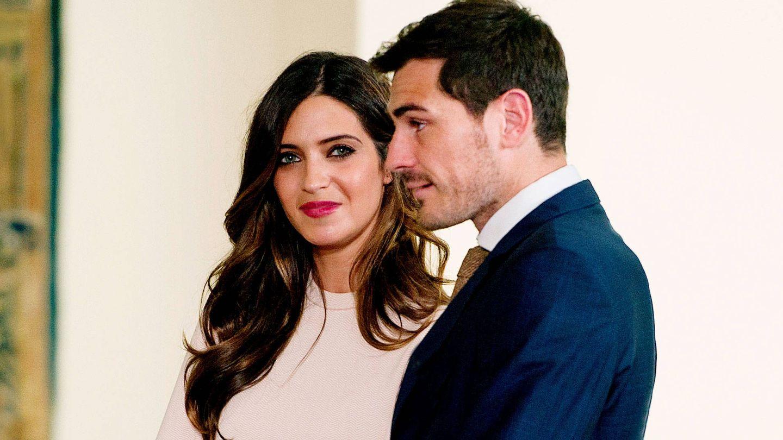 Sara Carbonero e Iker Casillas. (Getty)
