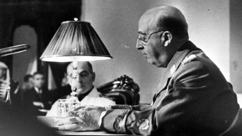 Foto: Franco, retratado el 12 de marzo de 1963. (Cordon Press)