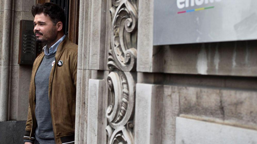 Foto: El candidato de ERC, Gabriel Rufián. (EFE)