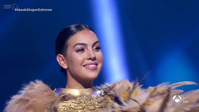 Georgina Rodríguez, en 'Mask Singer'. (Atresmedia)