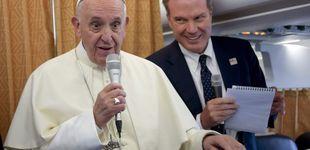 Post de El papa Francisco, en el avión a Marruecos: