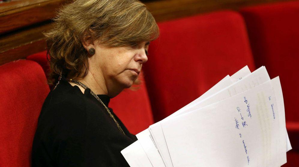 Foto: Meritxell Borràs, consejera de Gobernación. (EFE)