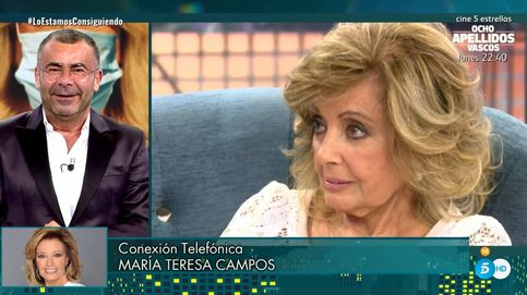 María Teresa Campos atiza a Jorge Javier por mofarse de Terelu: Escucha esto...