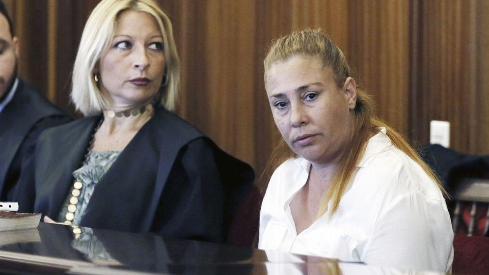 Foto: María del Carmen, durante el juicio. (EFE)