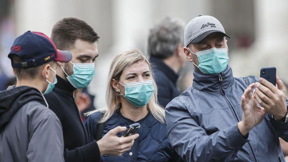Foto: Medidas de protección frente al coronavirus (EFE)