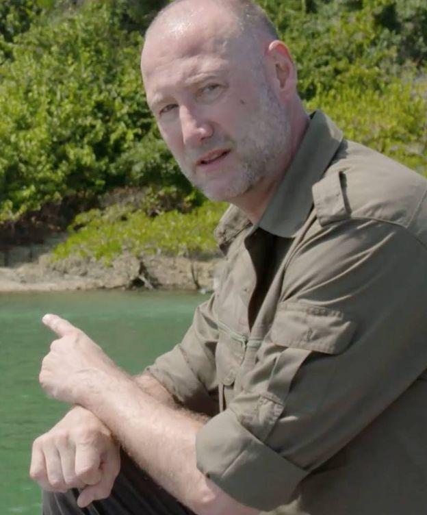 Foto: Pedro García Aguado, presentador de 'La isla'. (Atresmedia Televisión)