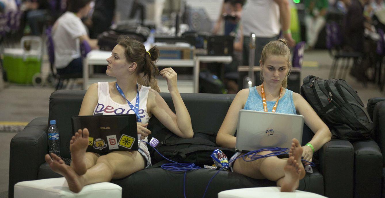 Foto: Campus Party en Sao Paulo (EFE)
