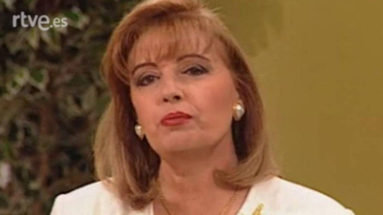 María Teresa Campos, durante su etapa profesional en la televisión pública. (RTVE).