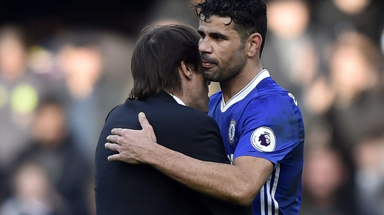 Diego Costa amenaza al Atlético de Madrid y Antonio Conte se ríe de él