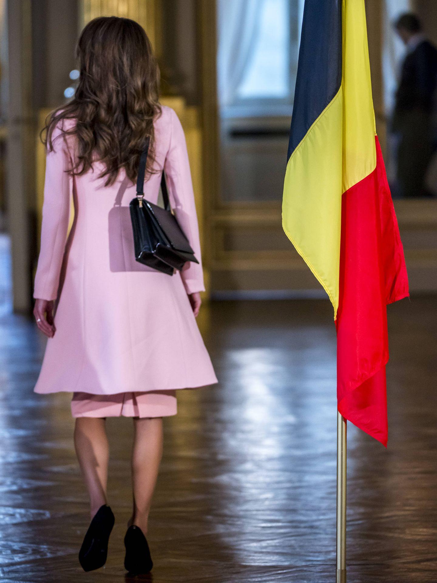 En mayo de 2016, en una visita a Bélgica. (Gtres)