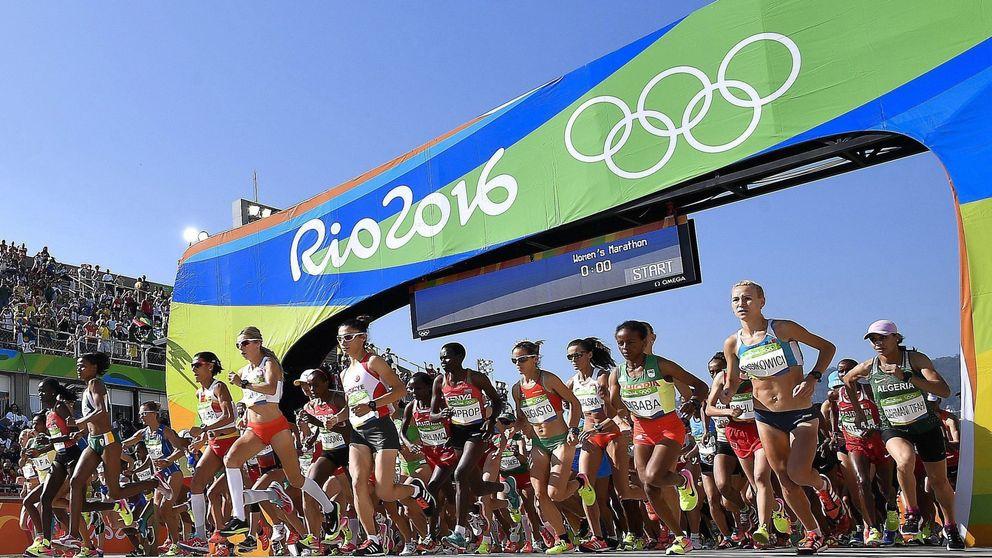 Azucena Díaz, la única española que terminó el maratón olímpico