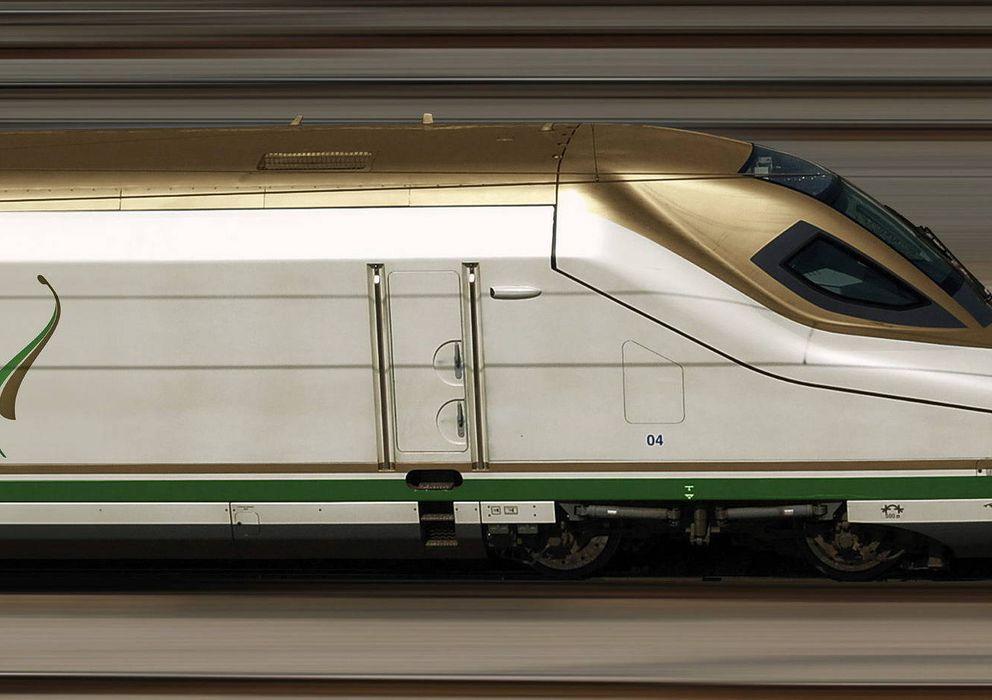 Foto: Un tren de alta velocidad similar al que un consorcio español construirá entre Medina y La Meca. Foto: EFE