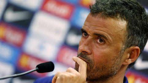 Luis Enrique, cómodo en la tensión, seguirá con su plan ante Las Palmas