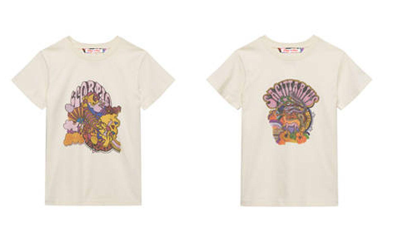 Las camisetas de Escorpio y Sagitario.  (Cortesía)