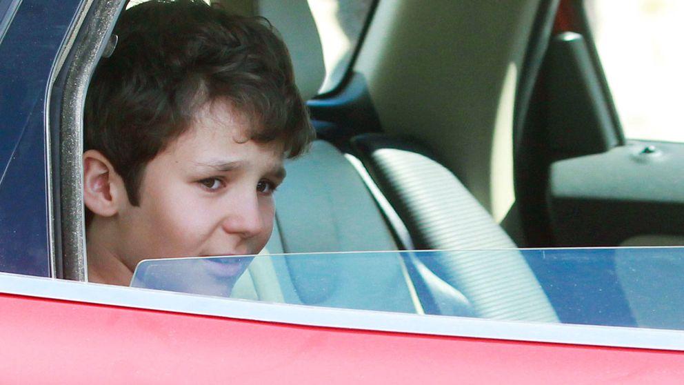 El accidente de Froilán que agitó la vida de la familia real hace ocho años