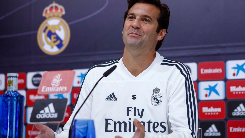 Foto: El Real Madrid ha ganado los cuatro partidos que ha jugado con Solari como entrenador. (EFE)