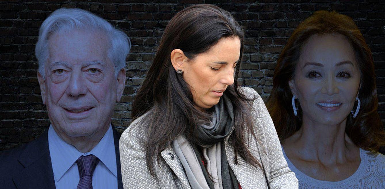 Foto: Morgana, entre Mario Vargas Llosa e Isabel Preysler (Fotomontaje de Vanitatis)