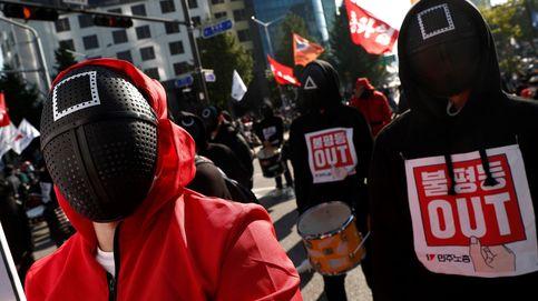 Los sindicatos salen a la calle en Seúl